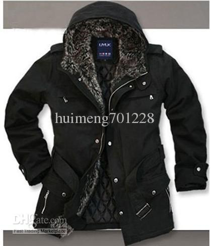 Men'S Cotton Padded Clothes Mens Jackets And Coats Men Hoodies