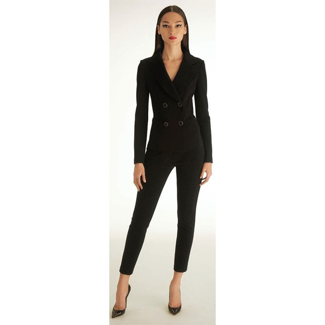 Black Pantsuits for Women -revolutionary wardrobe for women
