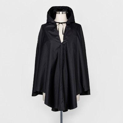 ShedRain Hooded Packable Ponchos - Black : Target