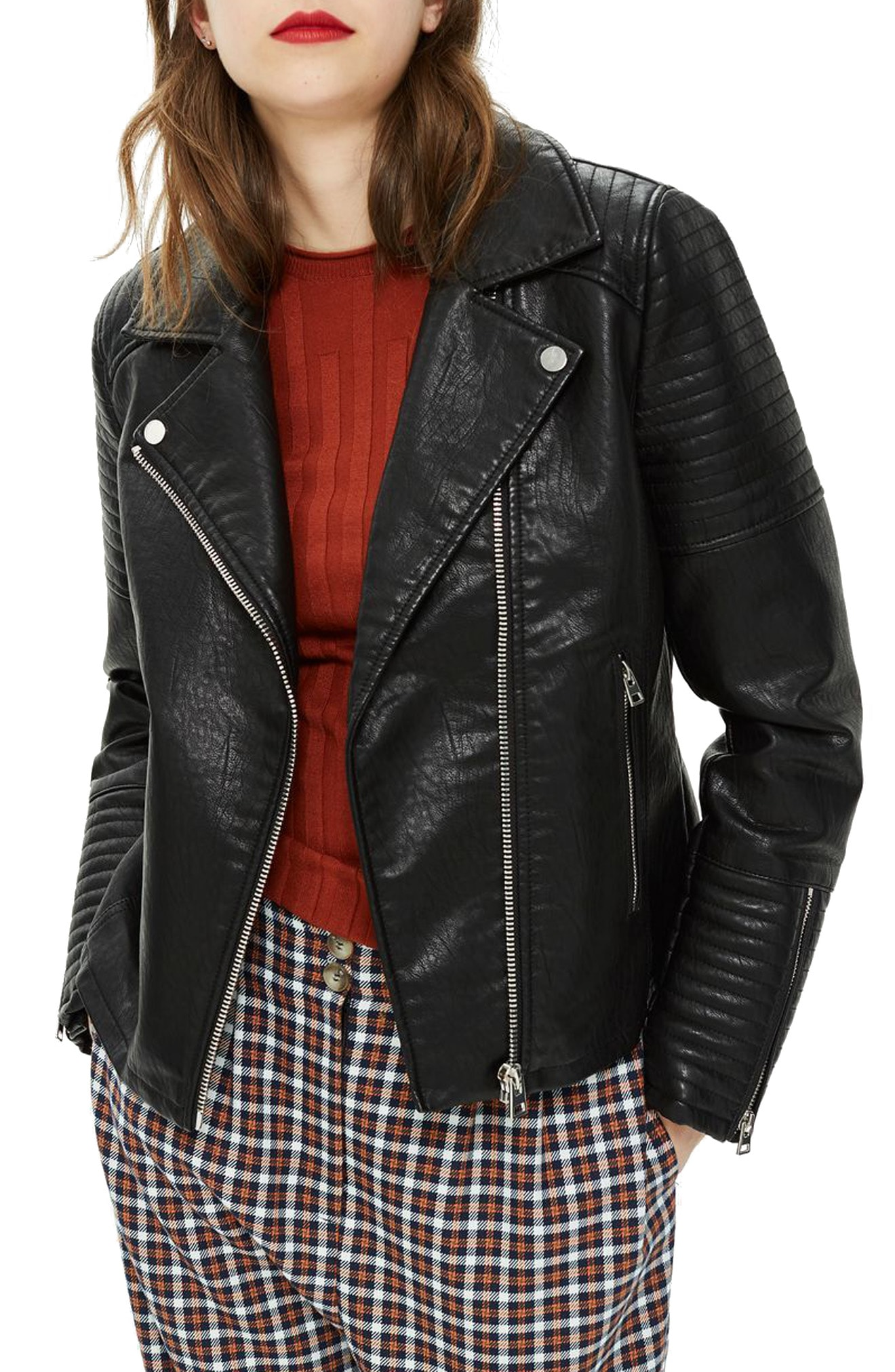 Black quilted jackets