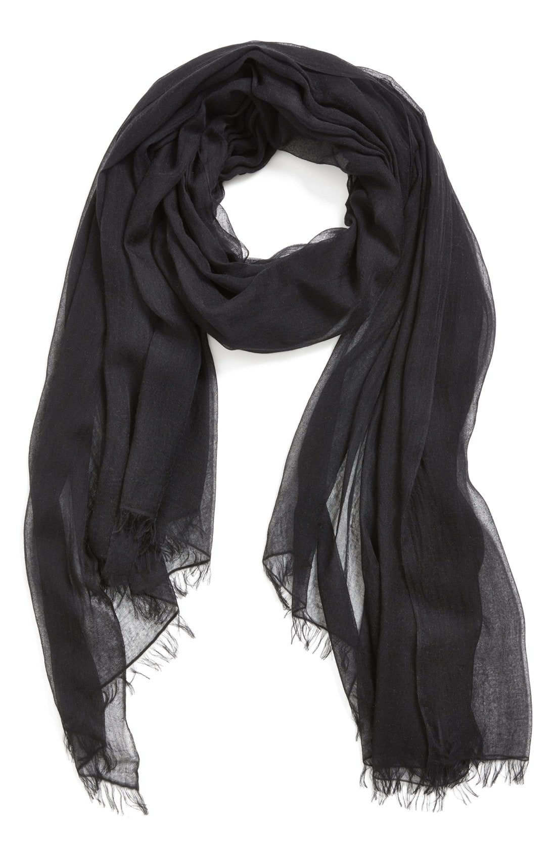 Women's Black Scarves | Nordstrom