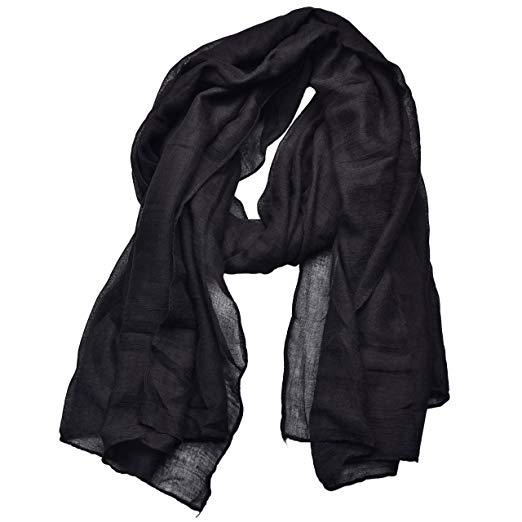 Woogwin Light Soft Scarves Fashion Scarf Shawl Wrap For Women Men