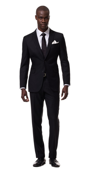 All Black Suit - Mens Suits | Black Lapel