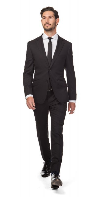 Madrid Jet Black Suit