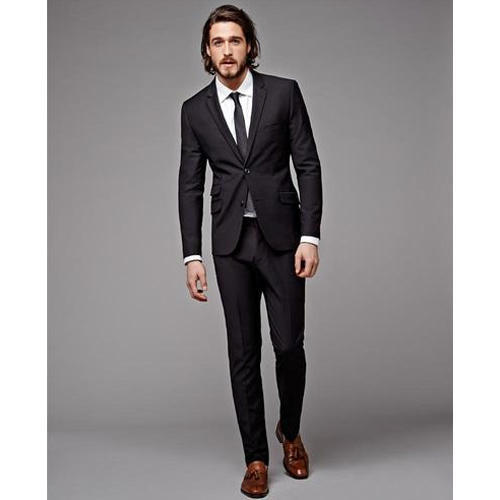 2-Piece Suit Party & Formal Wear Black Mens Suit, Rs 2375 /set | ID