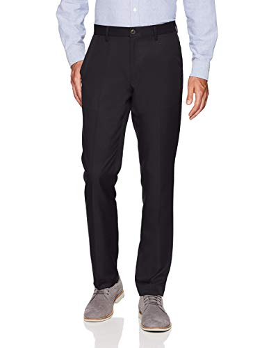 Black Men's Slim Fit Suit Pants: Amazon.com