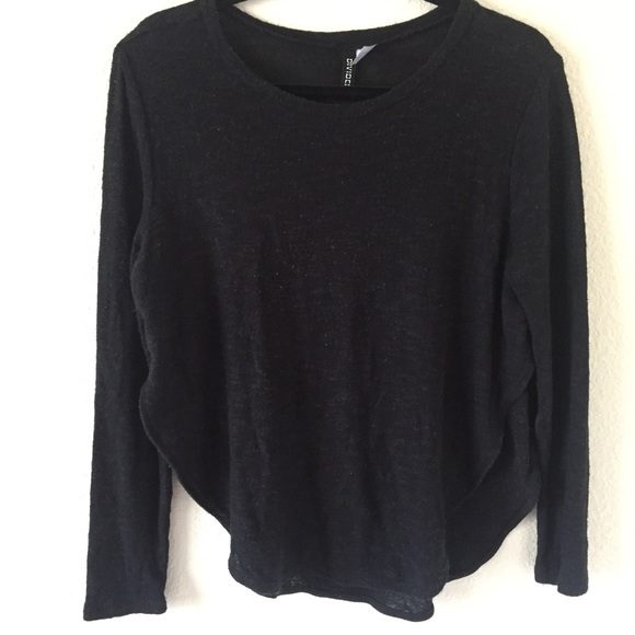 H&M Sweaters | 3 For 12hm Divided Lightweight Black Sweater | Poshmark