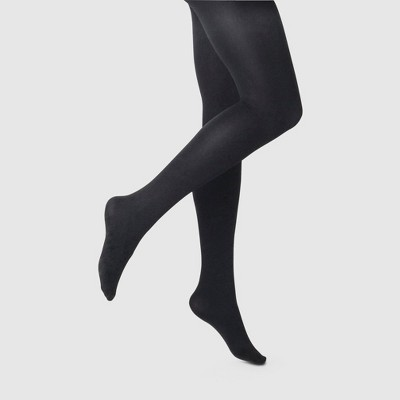 Tights in black – classic meets modern details