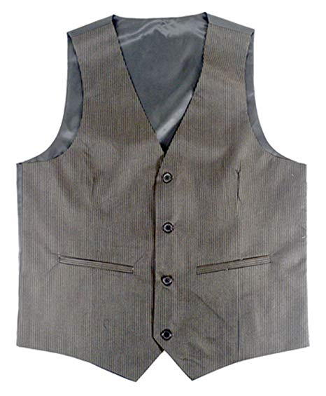 Men's Rayon Polyester Black Vests at Amazon Men's Clothing store: