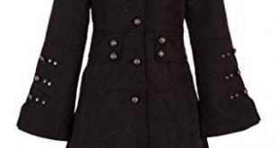 Amazon.com: Pretty Attitude Elegant Black Victorian Winter Jacket