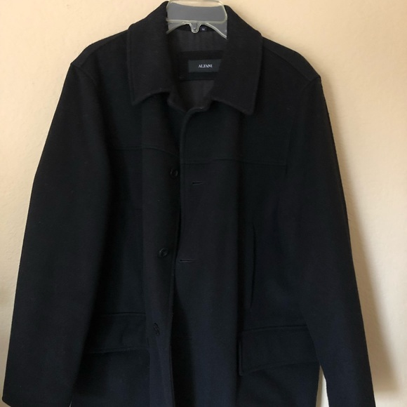 Alfani Jackets & Coats | Men Black Winter Jacket | Poshmark