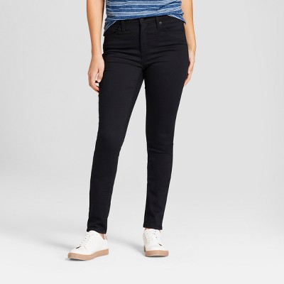 Women's High-Rise Skinny Jeans - Universal Thread™ Black : Target