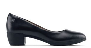 Selene: Women's Black Non-Slip Dress Shoes | Shoes For Crews