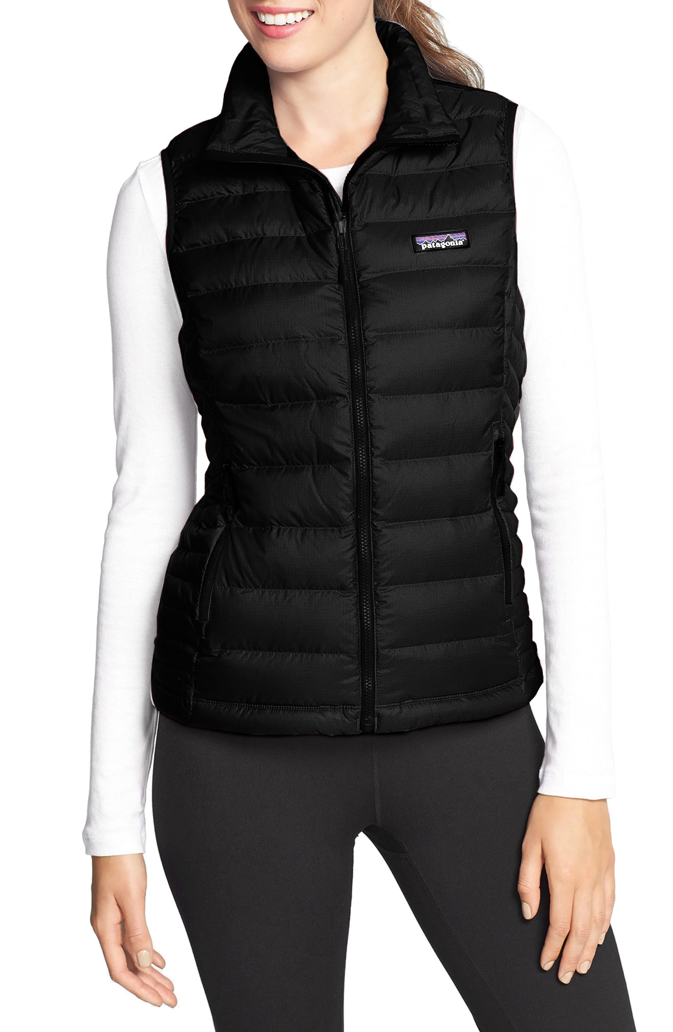 Black Women's Vests
