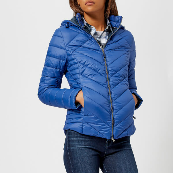 Barbour Women's Pentle Quilt Jacket - Sea Blue Womens Clothing
