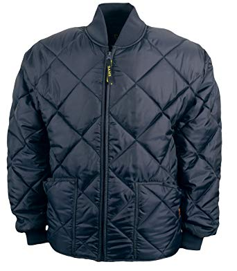 Game Sportswear Men's Diamond Quilt Jacket Navy at Amazon Men's