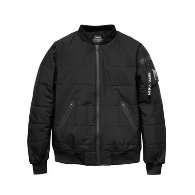 0176. Waterproof Thinsulate™ Bomber Jacket - Black - ASRV