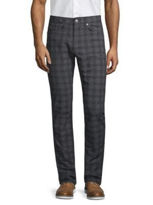 BOSS HUGO BOSS Delaware Checkered Pants. #bosshugoboss #cloth | Boss
