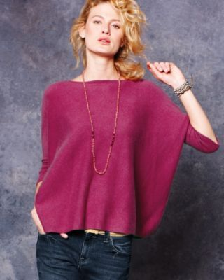 Cashmere Cropped Boxy Sweater. Time to start wearing this with my