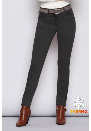 Brax - Carola Grey Thermal Denim - Bella di Notte