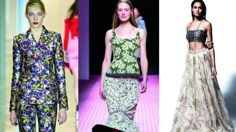 Fashion trend: Bedazzling brocade