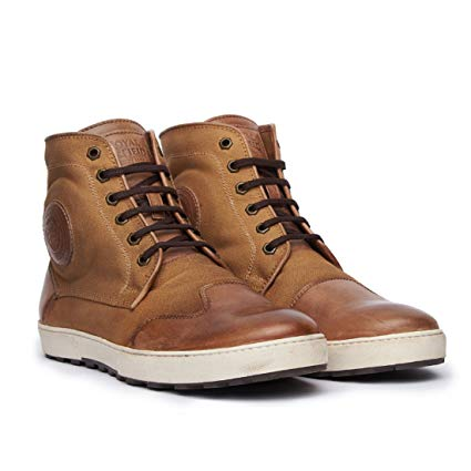 Royal Enfield SHOAW1702 Cooper Sneakers (Brown, UK 11): Amazon.in