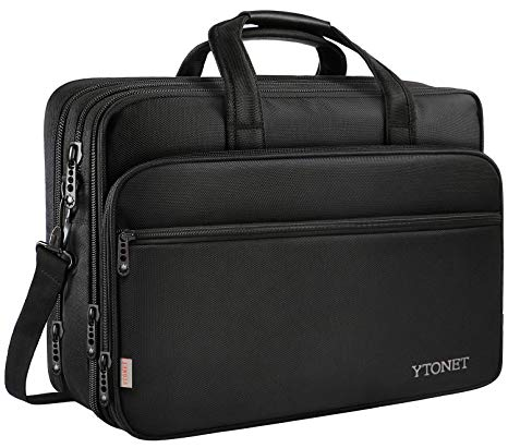 Amazon.com: 17 inch Laptop Bag, Travel Briefcase with Organizer