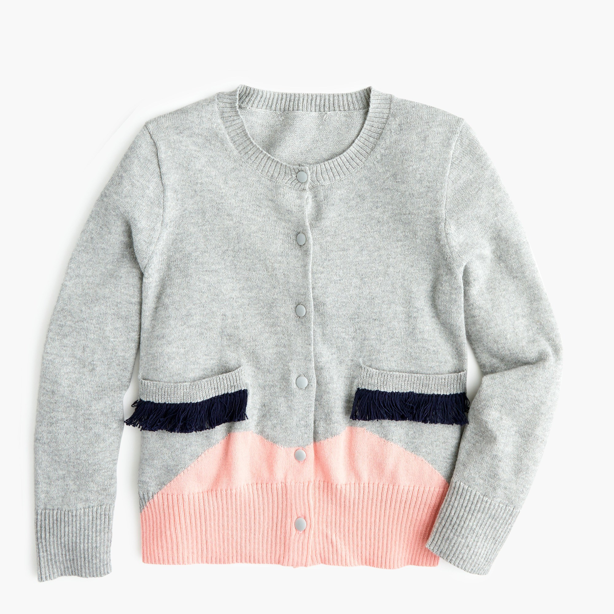 Girls' cardigan sweater with face : Girl cardigans | J.Crew