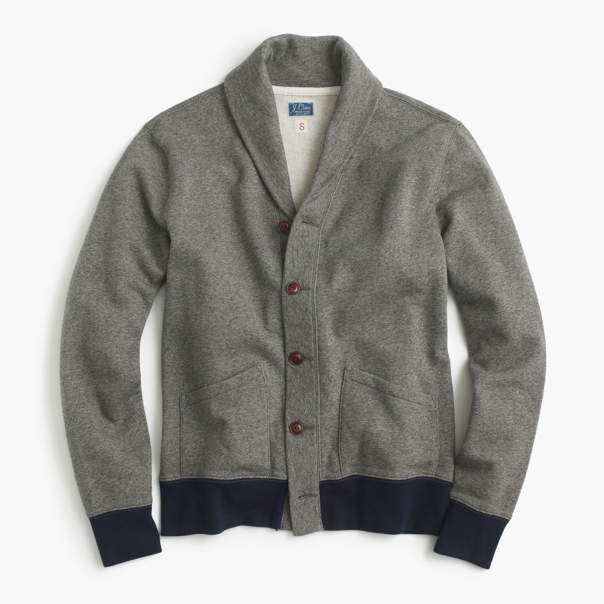 Cotton Shawl-Collar Cardigan Sweater : Men's Cardigans | J.Crew