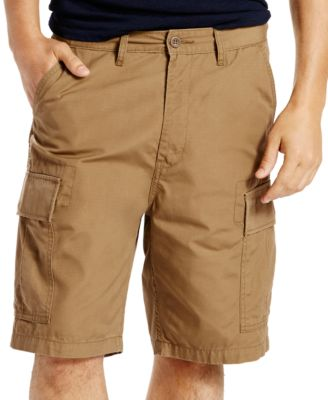 Levi's Men's Carrier Loose-Fit Cargo Shorts & Reviews - Shorts - Men