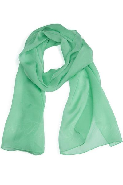 Silk Scarf | Womens Silk Chiffon Scarves in 4 Colors| Fishers Finery