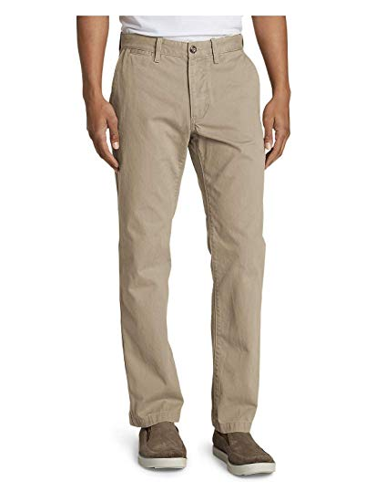 Eddie Bauer Men's Legend Wash Chino Pants - Classic Fit at Amazon