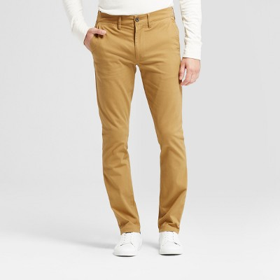 Men's Skinny Fit Hennepin Chino Pants - Goodfellow & Co™ Light Brown