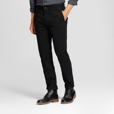 Men's Slim Fit Hennepin Chino Pants - Goodfellow & Co™ Black : Target