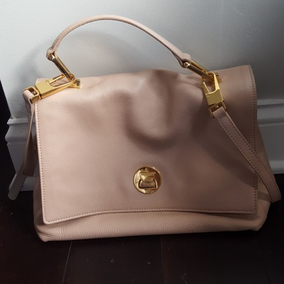 Coccinelle Bags | Top Handle Italian Leather Handbag | Poshmark