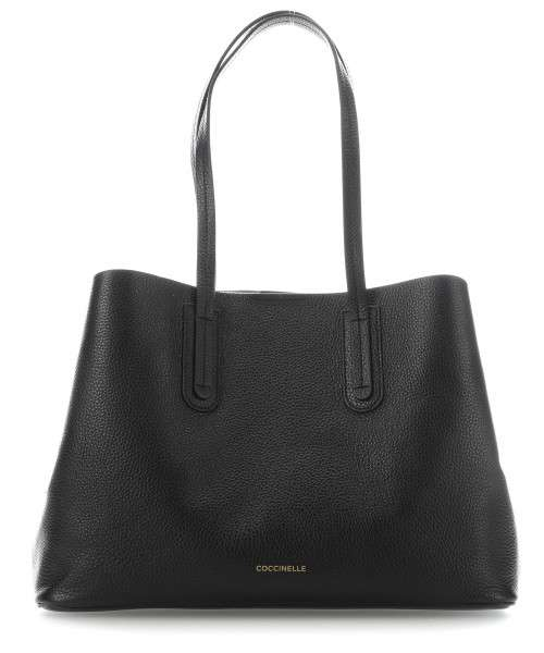 Coccinelle Dione Handbag grained cow leather black - E1DC5110201-001