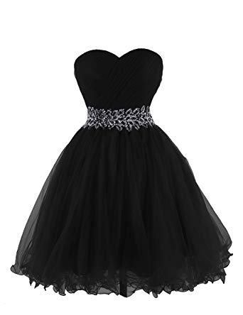 Amazon.com: Anlin Women's Sweetheart Tulle Cocktail Dress Homecoming