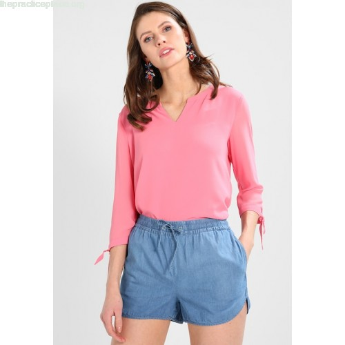 comma casual identity 3/4 ARM Blouse pink tvMUklOH