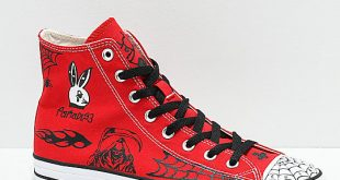 Converse CTAS Pro Hi Sean Pablo Red Skate Shoes | Zumiez