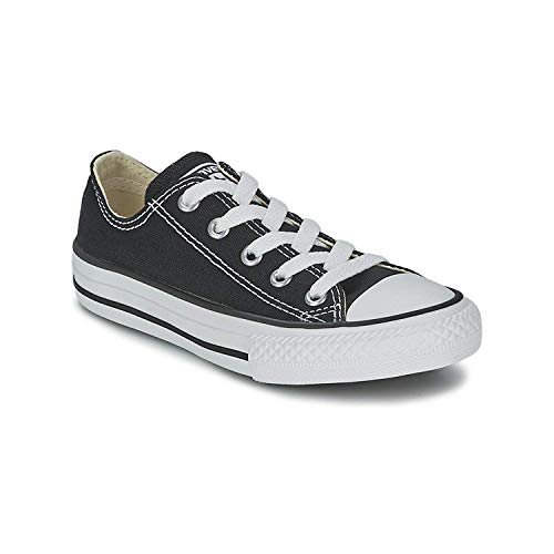 Amazon.com | Converse All Star Low Black/White Kids/Youth Shoes