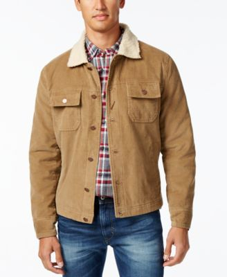 American Rag Men's Corduroy Trucker Jacket, Created for Macy's