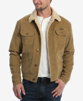 Wrangler Men's Heritage Sherpa Lined Corduroy Jacket & Reviews