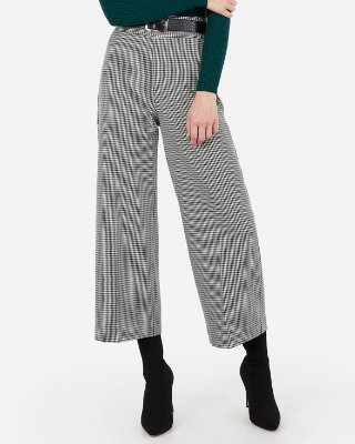 High Waisted Houndstooth Skinny Pant | Express