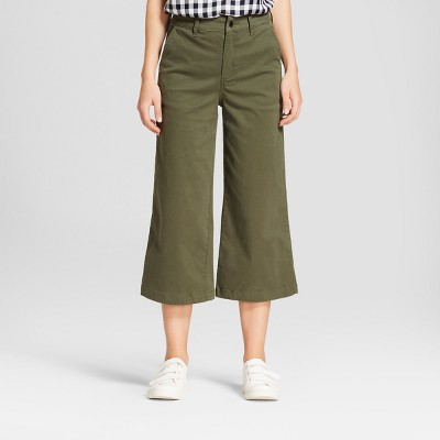 Women's Wide Leg Crop Pants - A New Day™ : Target