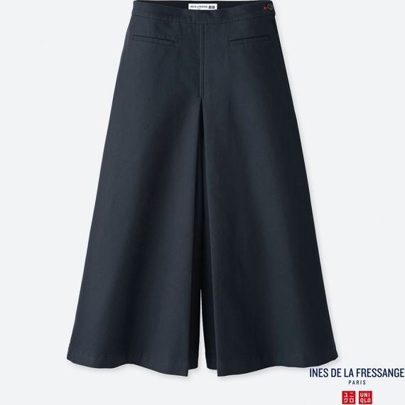 WOMEN IDLF Cotton Culotte Pants - Pants - BOTTOMS - WOMEN | UNIQLO