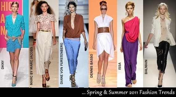 Spring Summer Fashion Trends 2011 - Current Fashion Trends for