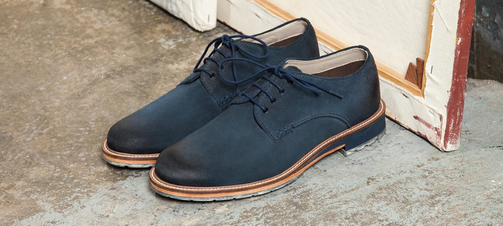 Derby shoes for men