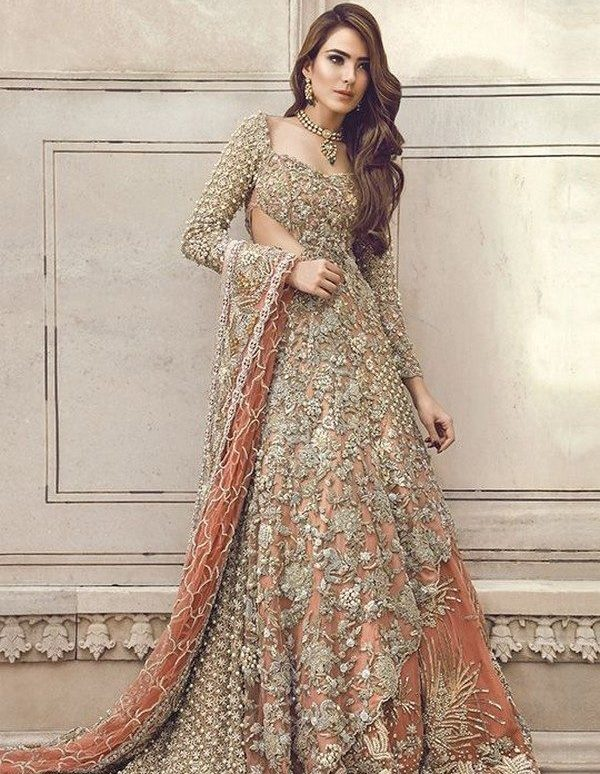 Latest Pakistani Designer Dresses - Bridal Lehenga