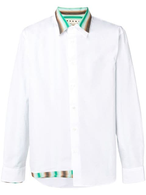 Marni double layer shirt $890 - Buy Online SS19 - Quick Shipping, Price