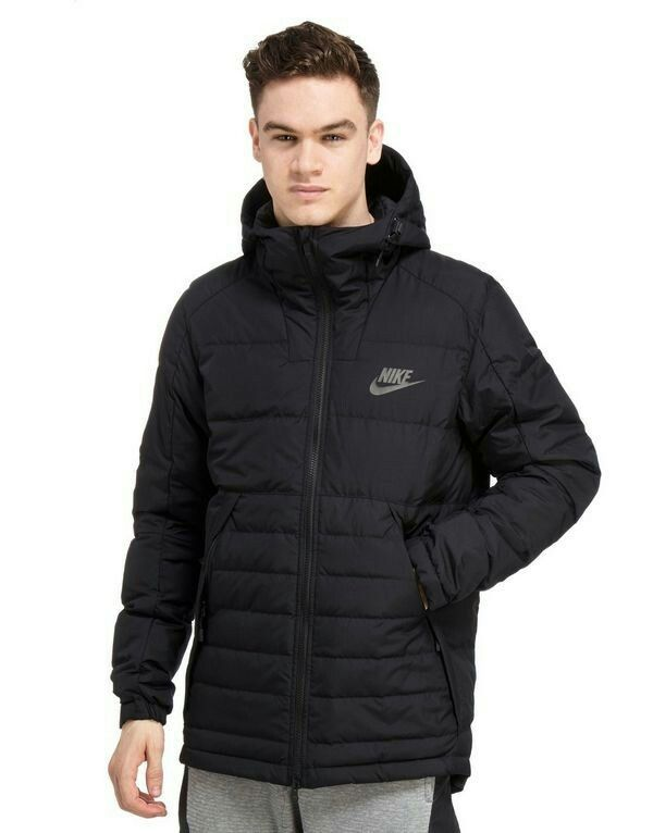 Nike Padded Down Jacket | clothing and outfits in 2019 | Pinterest